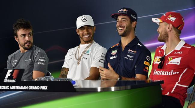里卡多:汉密尔顿会在本周末的排位赛上撞车