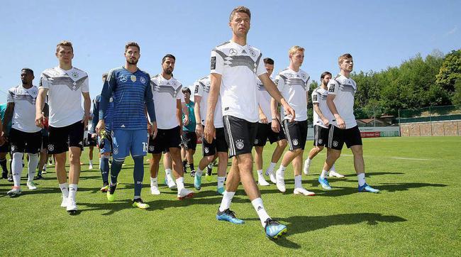 德国队备战世界杯