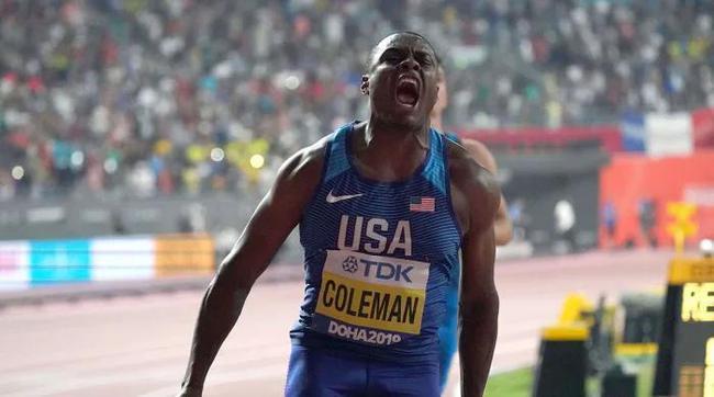 美国百米世界冠军科尔曼遭禁赛2年 错过东京奥运会