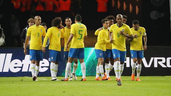 五星巴西成为夺冠头号热门