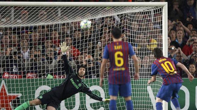 梅西的欧冠淘汰赛梦魇
