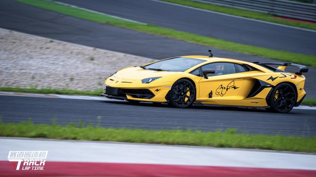 兰博基尼Aventador SVJ在浙江国际赛车场