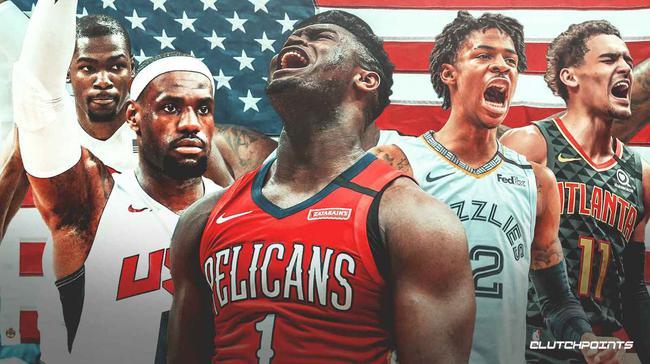 美国队将公布奥运候选名单 新增锡安等多新星