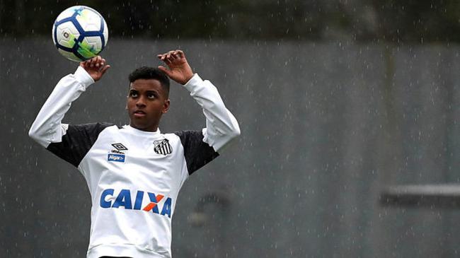4500万!皇马KO巴萨签下巴西新天才 内马尔二世