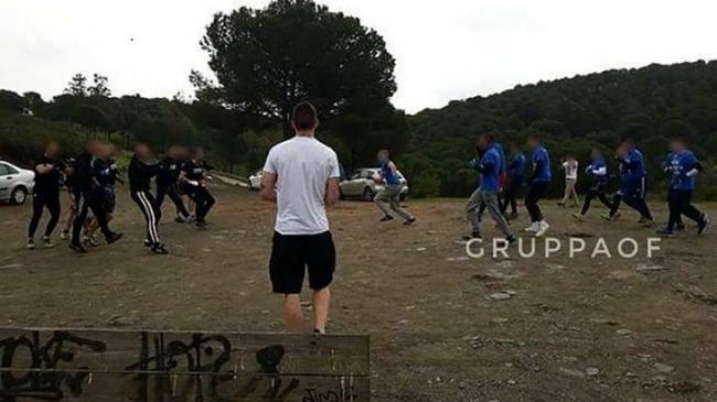 梅西C罗球迷互殴