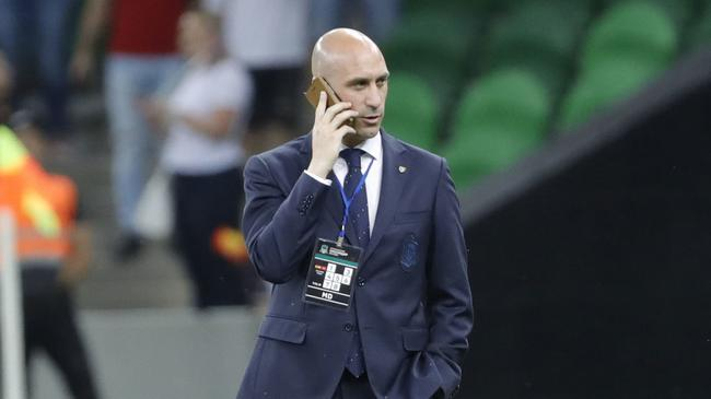 西班牙足协主席颇为不满