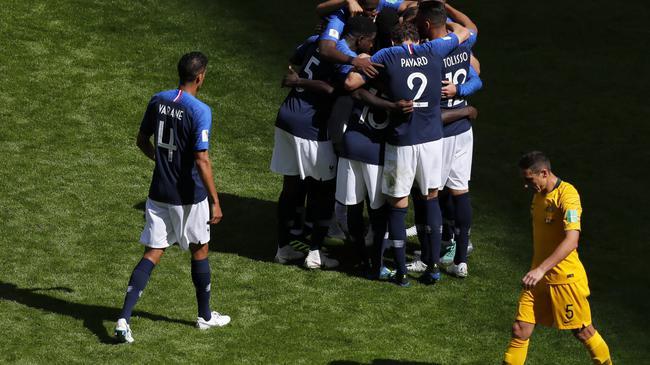 世界杯-格子进球博格巴献绝杀 法国2-1力克澳洲
