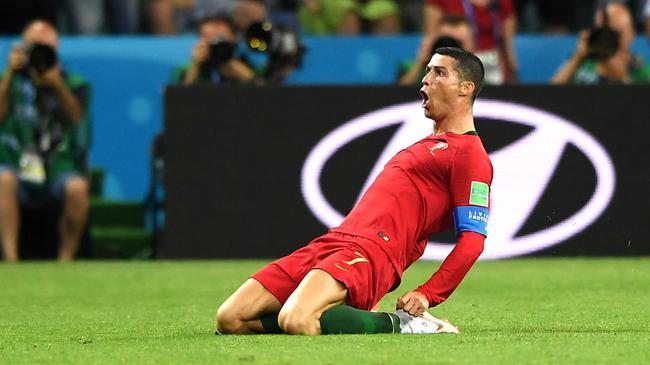 C罗帽子戏法,葡萄牙3-3西班牙