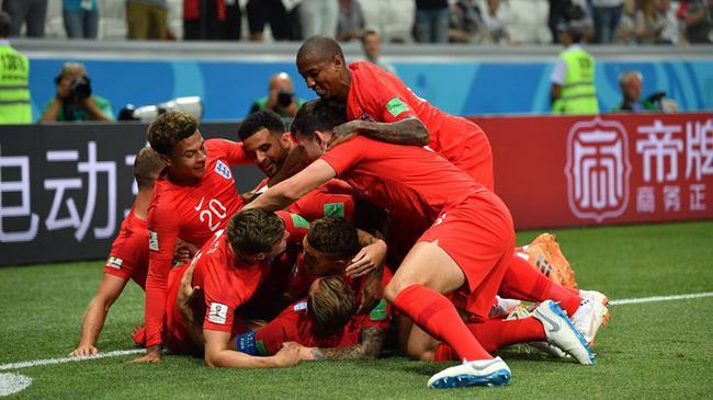 世界杯-凯恩2球+91分钟绝杀 英格兰2中框2-1险胜