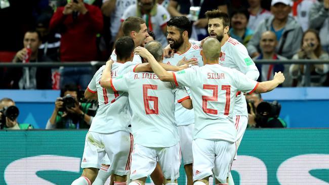 世界杯-科斯塔连场破门 西班牙全场围攻力擒伊朗