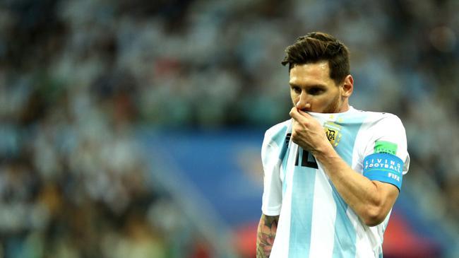 世界杯-梅西哑火阿根廷0-3负 克罗地亚连胜出线