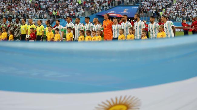阿根廷首发11人