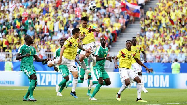 世界杯-哥伦比亚绝杀夺头名晋级 非洲球队全出局