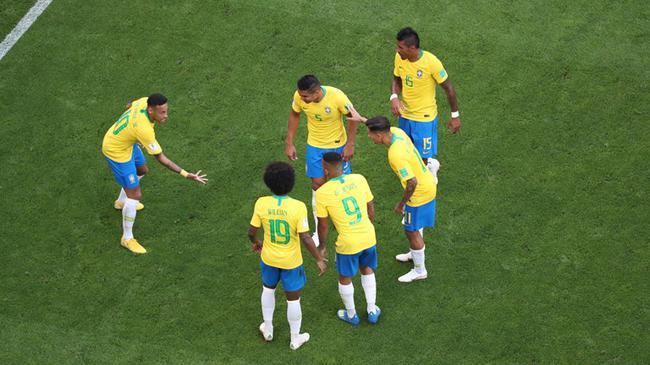世界杯-内马尔进球 巴西2-0轻取墨西哥晋级8强