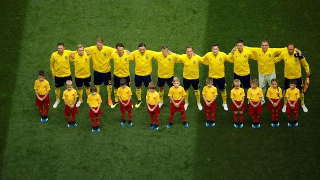 瑞典首发11人