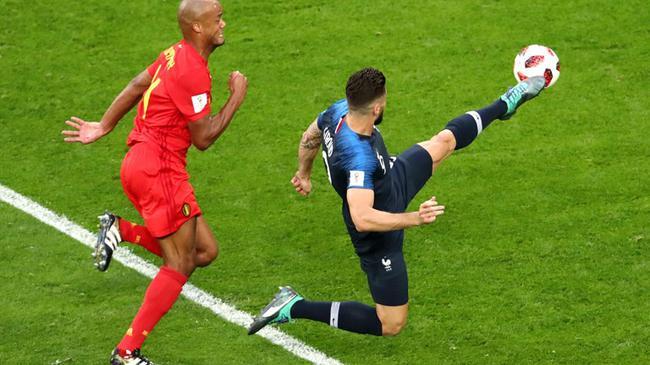 2018年7月11日世界杯半决赛 法国vs比利时 [视频] 法国进决赛