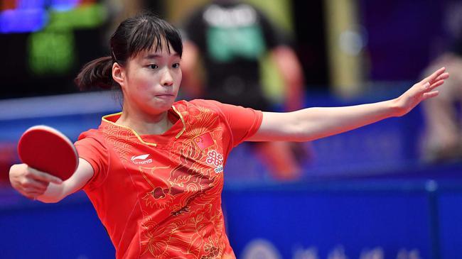 香港赛国乒少年豪取7金 14岁小丫赛季已夺四冠