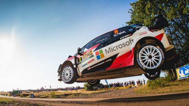 WRC德国站丰田车队塔纳克获得全场冠军