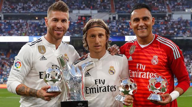 欧洲最佳+世界杯最佳!皇马这配置太太太过可怕