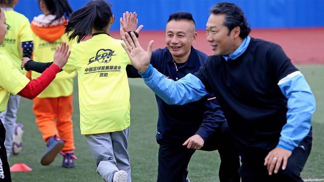 中国足球发展基金会广西崇左农民子弟亲子培训班开营