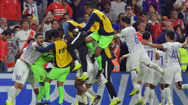 阿尔艾因祝贺晋级世俱杯决赛