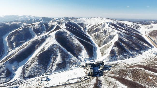 云顶滑雪场(原料图)