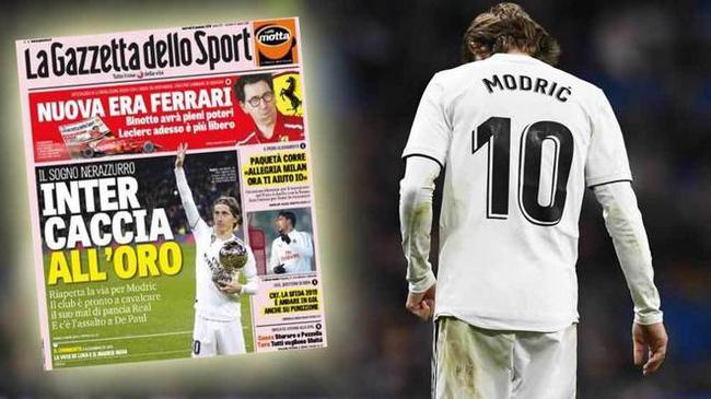国际米兰没有放弃莫德里奇