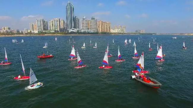 第五届全国青少年帆船联赛开年首站在广东省湛江市落幕