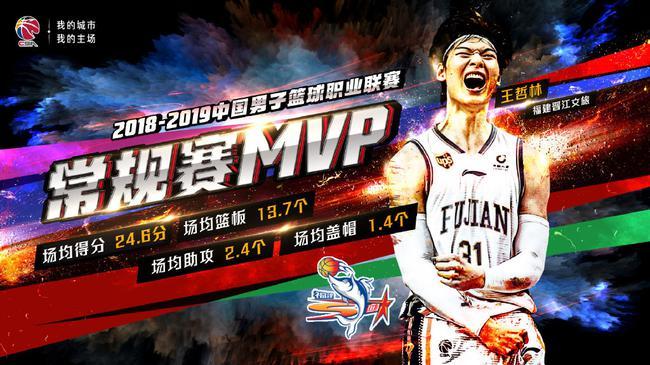 王哲林当选常规赛MVP!