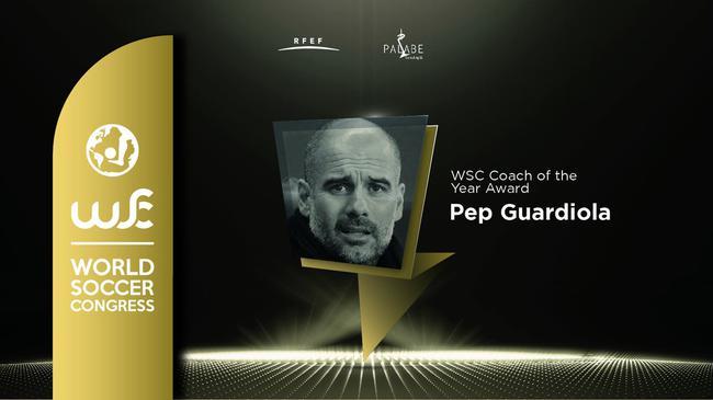 瓜帅获得年度最佳教练