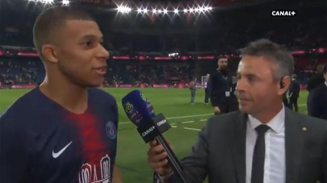 姆巴佩:我将留在巴黎踢球 以粉丝身份看皇马比赛