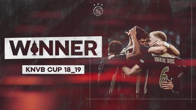 收获荷兰杯冠军