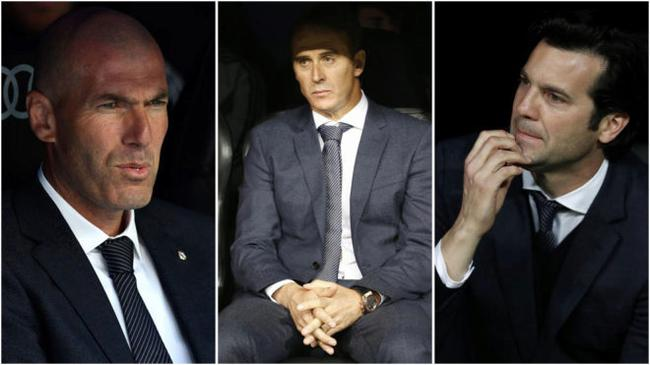 皇马本赛季通过了三名主帅