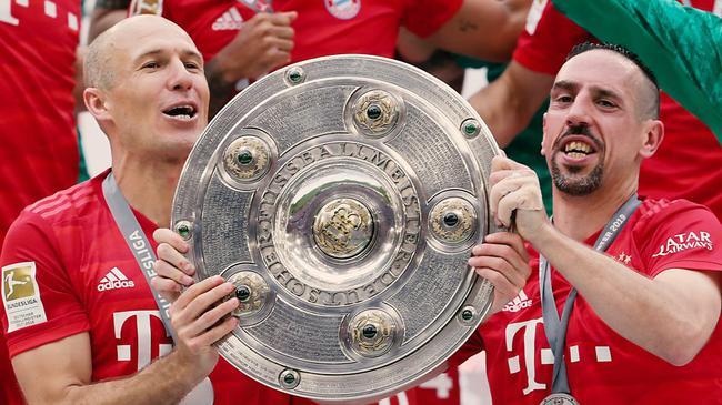罗本和里贝里在拜仁的十年