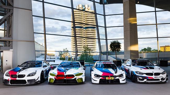宝马M赛车运动的赛车阵列