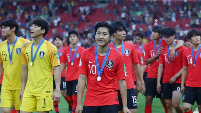 世青赛-李康仁破门韩国1-3遭逆转 亚洲球队再丢冠