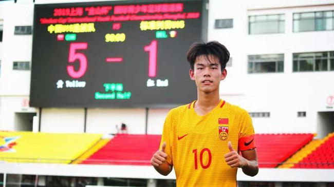 5-1力克标准列日 中国U15选拔队全胜进金山杯决赛