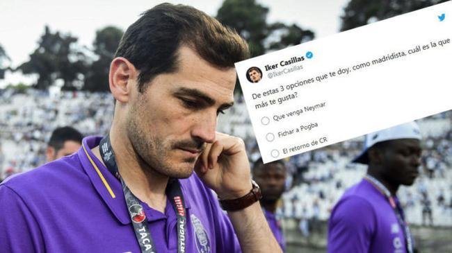 卡西咨询皇马球迷,更期待签下谁