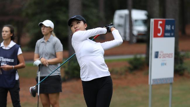 LPGA资格考第六轮何沐妮领先2杆 刘瑞欣刘艳晋级