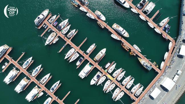 中国杯帆船赛6日大亚湾开战 船队做最后热身