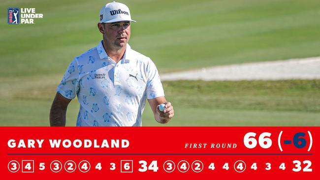 伍德兰德首轮记分卡