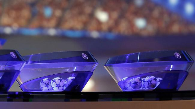 欧冠16强抽签