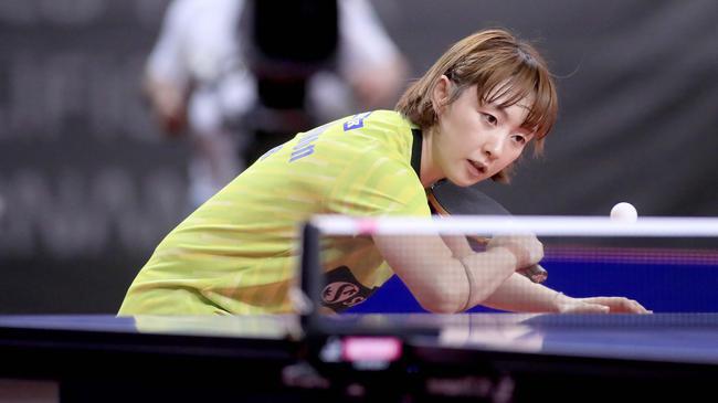 奥运资格赛韩国女乒决战法国 中