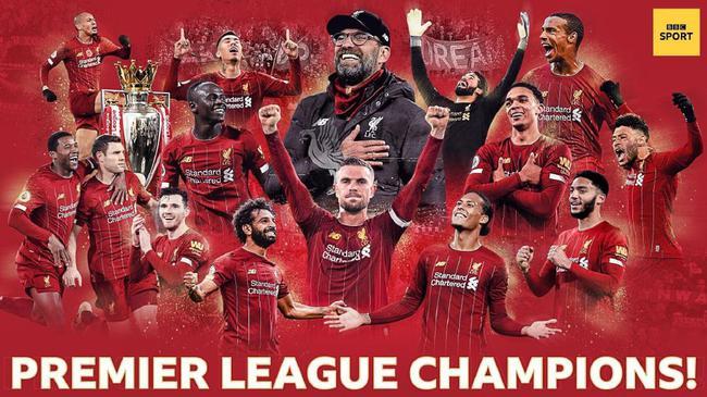 利物浦三十年首冠