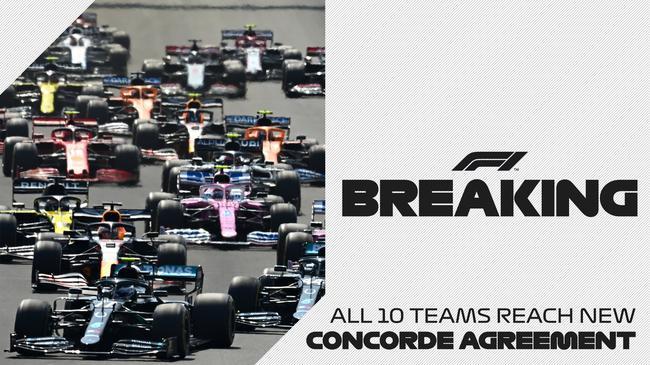 官方消息:所有10支F1车队都签署了新《协和�f�h<cite>�f啶,���</cite>》