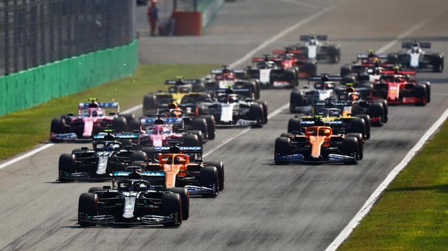 F1  蒙扎之战推进F1重新审视倒序发车