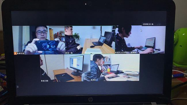 武汉大方学校队视频监局画面
