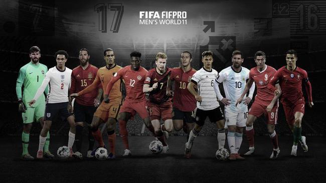 世界球员协会最佳阵容:莱万梅西C罗领衔 拜仁4人