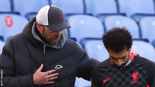 克洛普:萨拉赫在利物浦很开心 转会传闻是假的