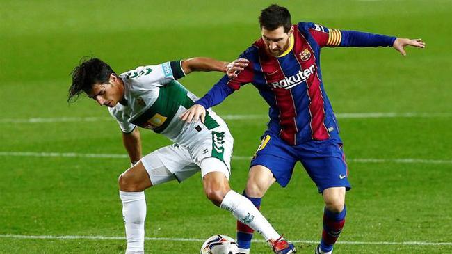 梅西联赛进球追平C罗  今年进球五大联赛第一